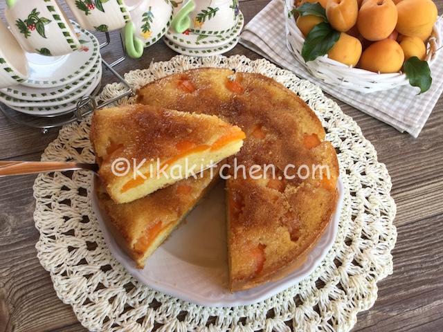 torta albicocche rovesciata