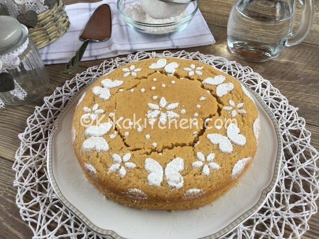 torta senza latte e burro