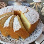 Chiffon cake aromatizzata alla vaniglia (torta chiffon)