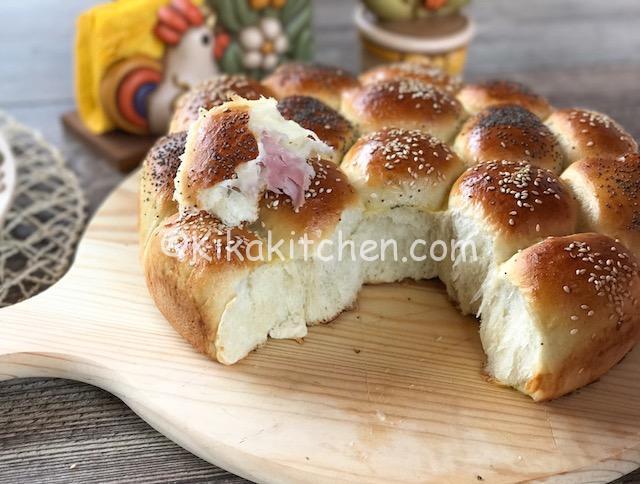 Danubio salato. Rustico di pan brioche farcito
