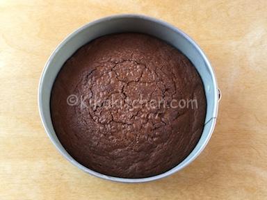 torta bassa al cioccolato