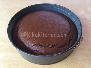 torta con cacao amaro