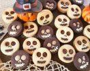 Biscotti di Halloween a forma di teschio
