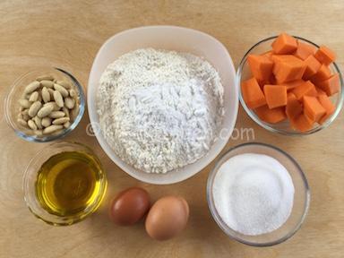 ingredienti torta di zucca