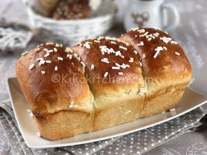 Pan brioche dolce e soffice. Ricetta facile