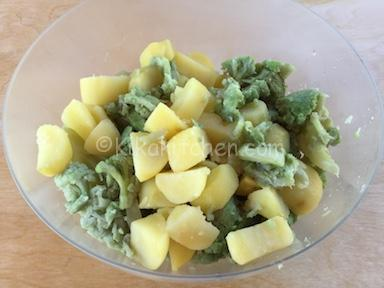 cavolfiore e patate