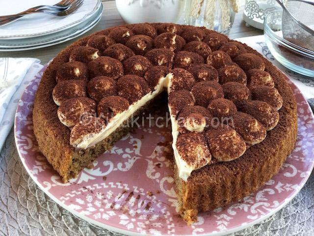 Crostata Morbida Al Tiramisù Con Crema Al Mascarpone Kikakitchen