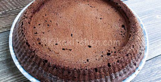 Crostata morbida al cioccolato da farcire. Ricetta base
