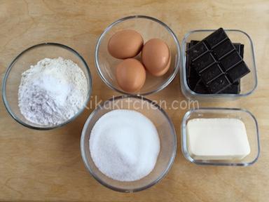 ingredienti crostata morbida al cioccolato