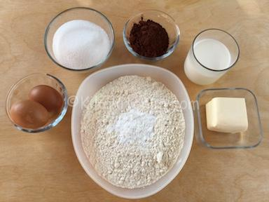 ingredienti muffin marmorizzati