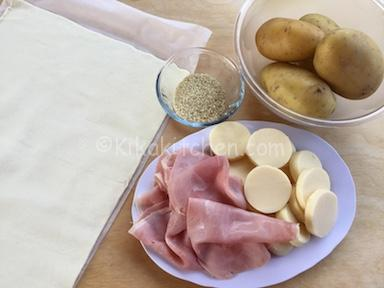ingredienti pasta sfoglia ripiena