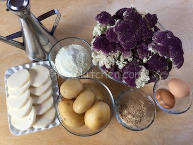 ingredienti sformato di cavolfiore