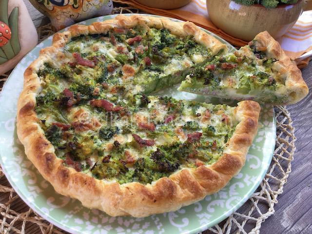 quiche di broccoli