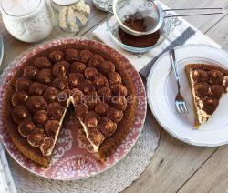 Crostata morbida al tiramisù con crema al mascarpone