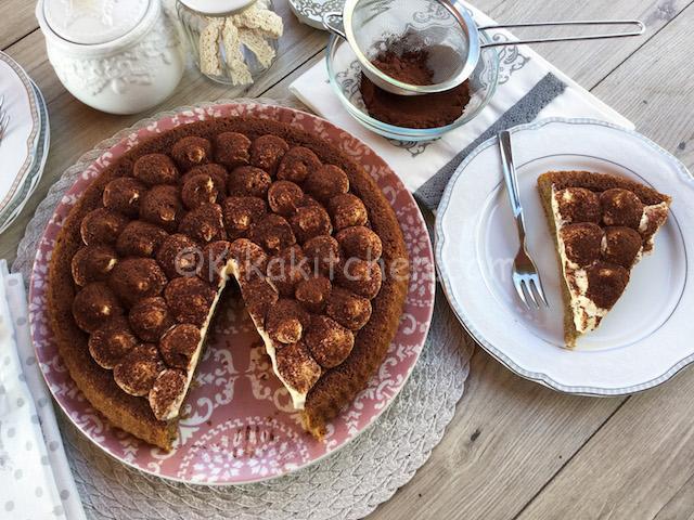 ricetta torta tiramisu