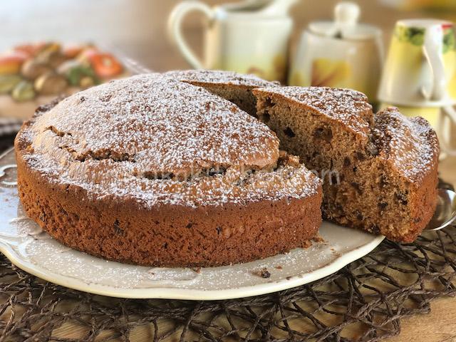 torta con farina di castagne