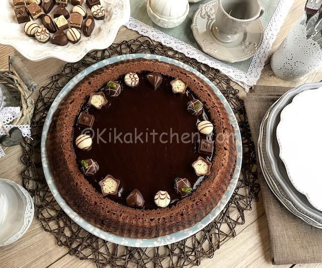 torta lindt con praline