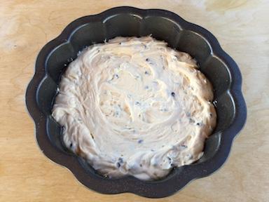torta mascarpone e gocce