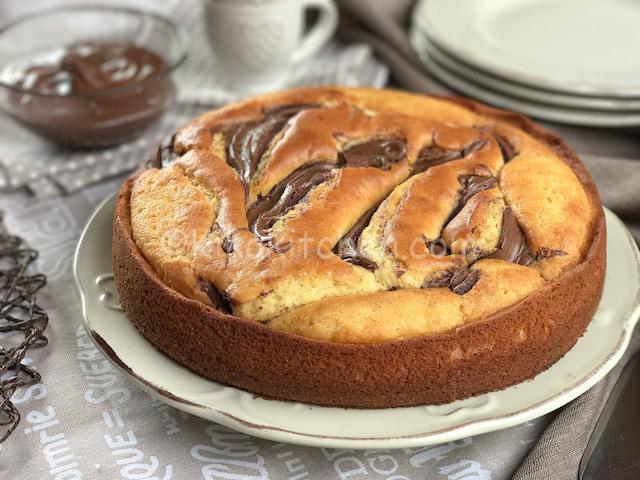 torta soffice mascarpone e nutella