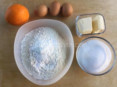 ingredienti pan d arancia