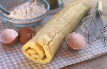 rotolo di pasta salata