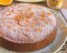 Torta all'arancia soffice e morbida. Ricetta passo passo