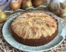 Torta di pere con morbidi pezzetti di pera all'interno