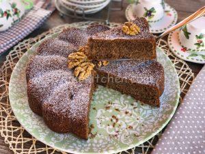 torta semplice noci