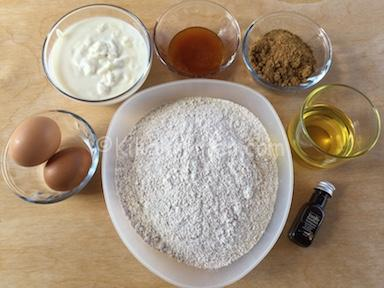 ingredienti torta con farina integrale