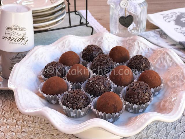 tartufi cioccolato