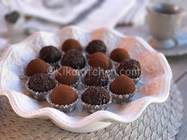 tartufini cioccolato