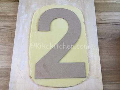 cartoncino numero