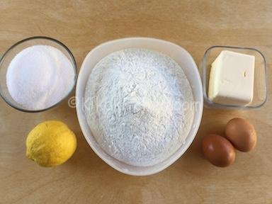 ingredienti biscotti con farina di riso