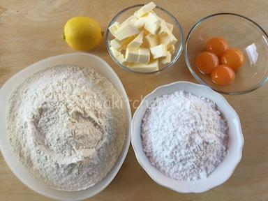 ingredienti pasta sable