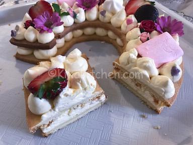 esempio di taglio cream tart