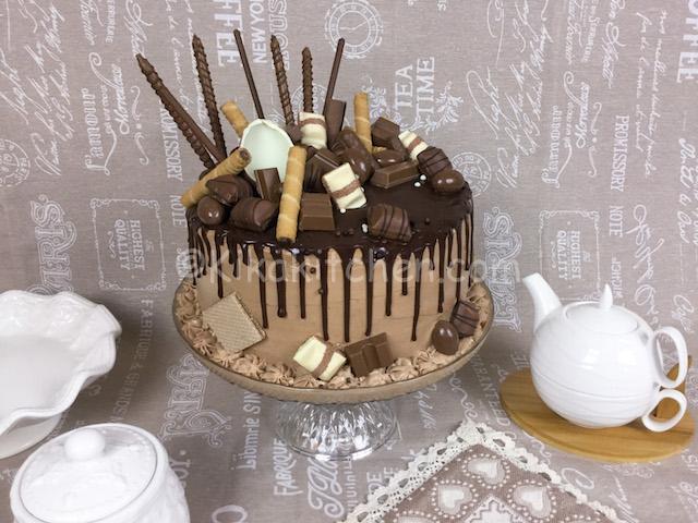 Drip cake, la torta con ganache gocciolante