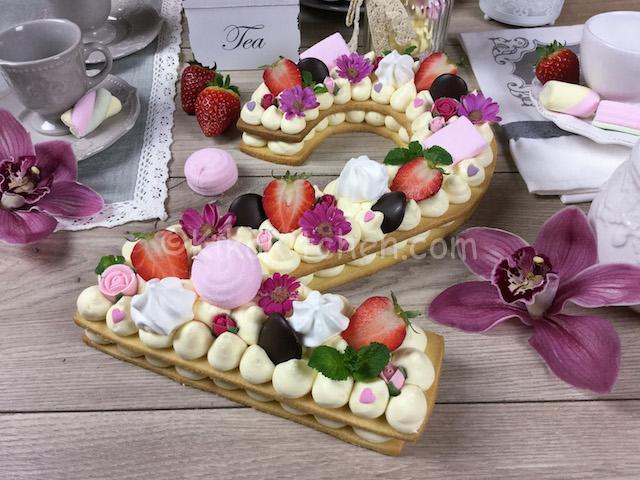 torta numero cream