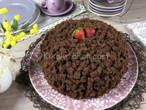 torta mimosa con cioccolato