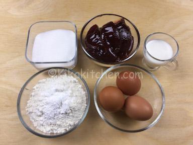 ingredienti rotolo alla marmellata
