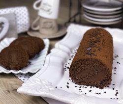 rotolo cioccolato con nutella