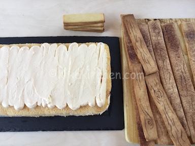 assemblare torta cassetta