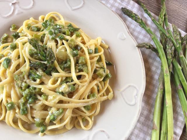 carbonara di asparagi