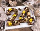 Cream tart con pasta biscotto al cacao e crema alla nutella