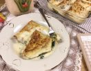 Crepes ricotta e spinaci gratinate in forno