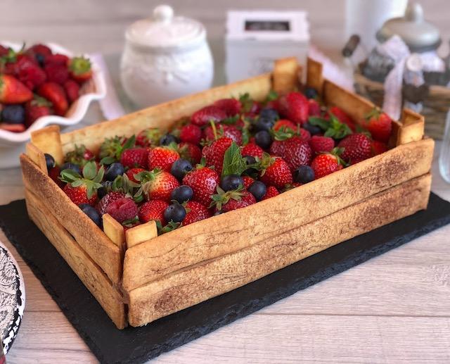 dolce cassetta di frutta