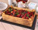 Torta cassetta di frutta con tutorial passo passo