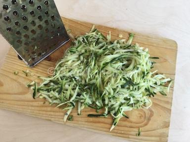 zucchine grattugiate