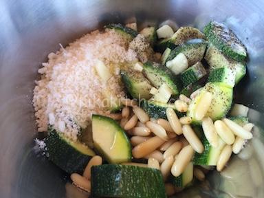 come fare pesto di zucchine
