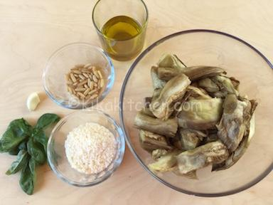 come fare il pesto di melanzane