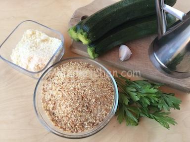 ingredienti zucchine gratinate